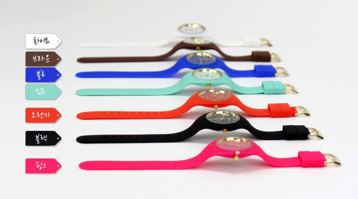 젤리 손목시계 - 밴드형 - 포포팬시, 10,000원, 여성시계, 패션시계